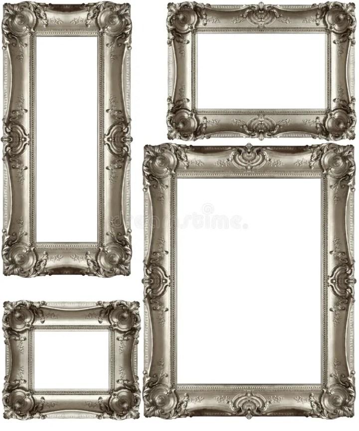 Silver Antique Picture Frames Framess