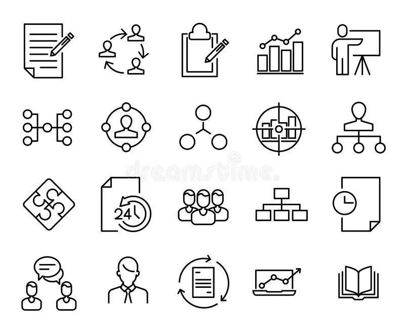Infographic Software Development Scrum Methodology Stock