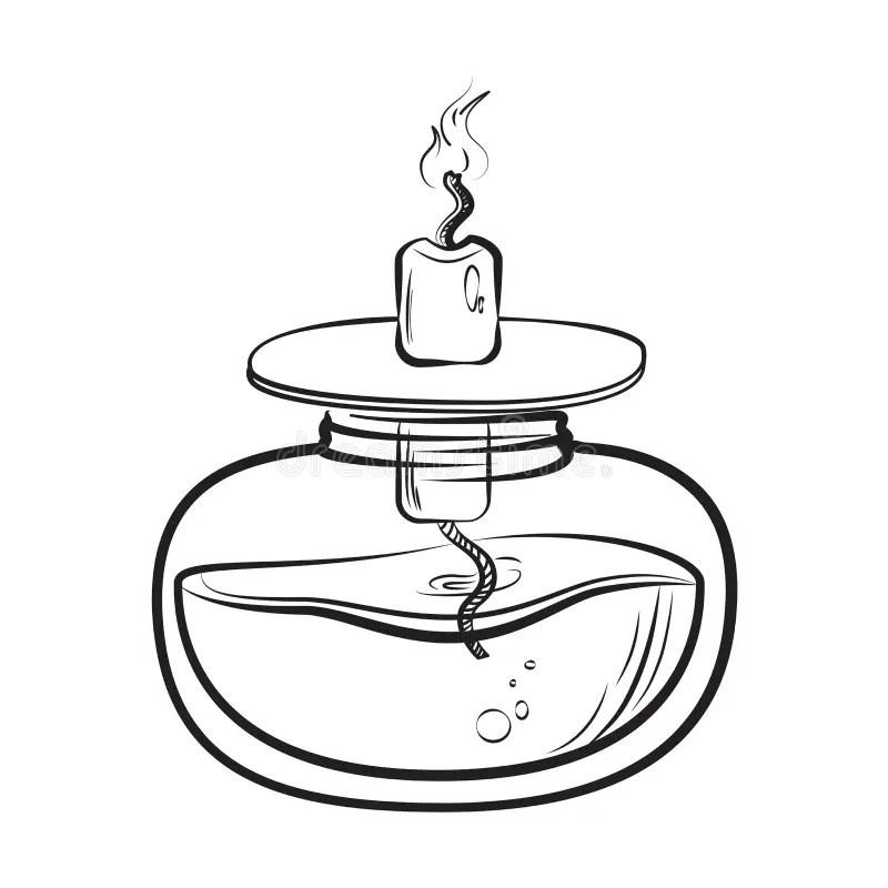 Lamp Sketch Sketch Of Spirit Lamp Chemical Burner Chemical