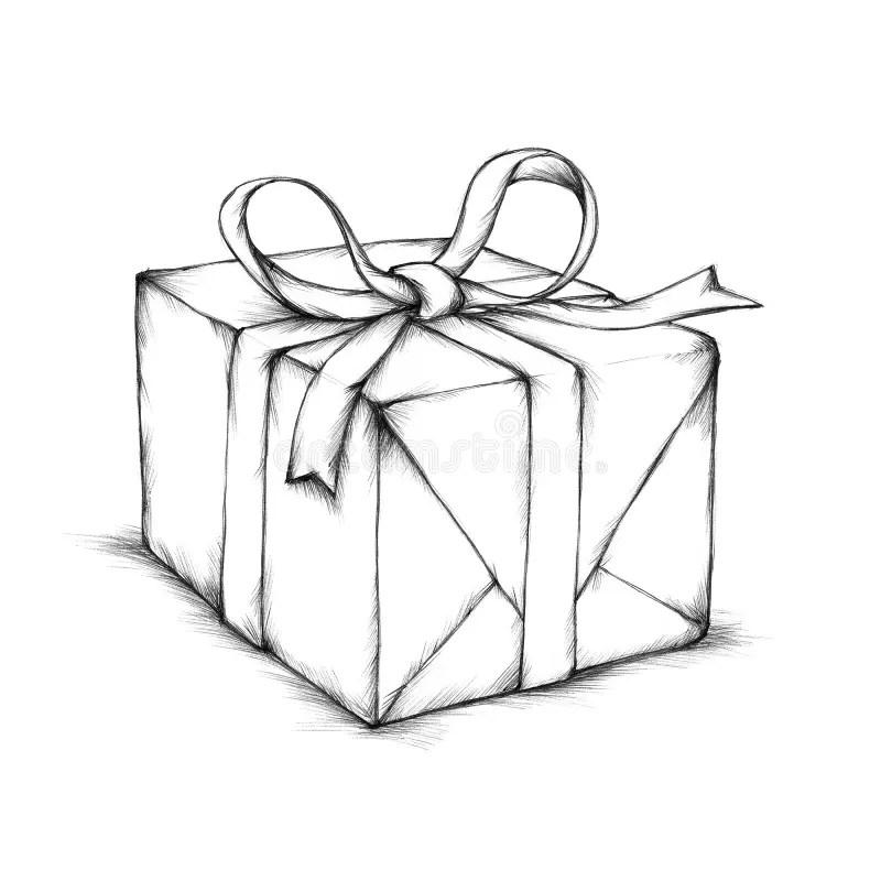 A small gift box stock illustration. Illustration of