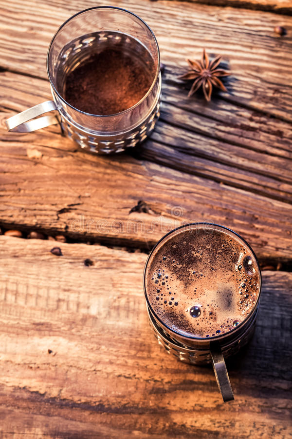 Smell Of Freshly Brewed Coffee Stock Image - Image of ...