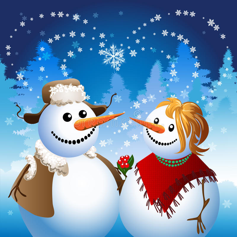 snowman on date stock vector image of snowman humor