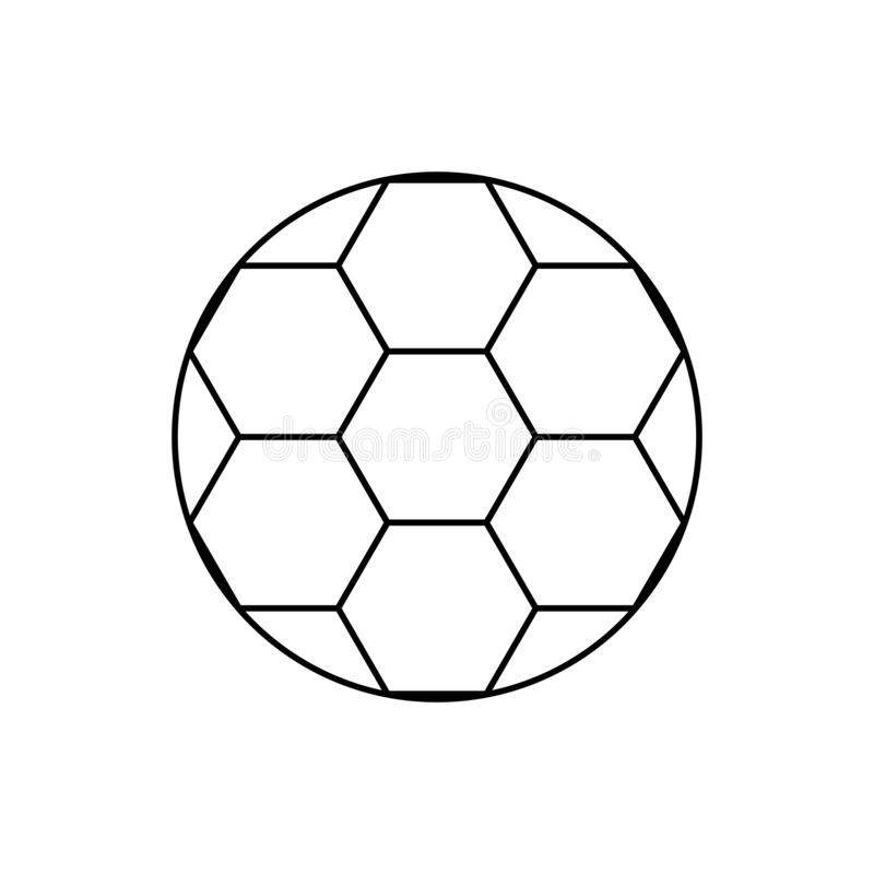 Soccer Tournament Thropy Emblem With Ball Stock Vector