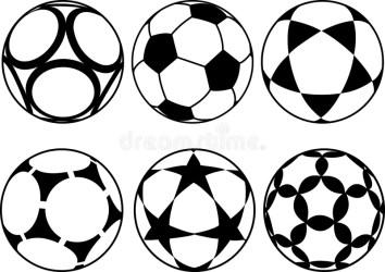 Soccer balls stock vector Illustration of soccer balls 34641863