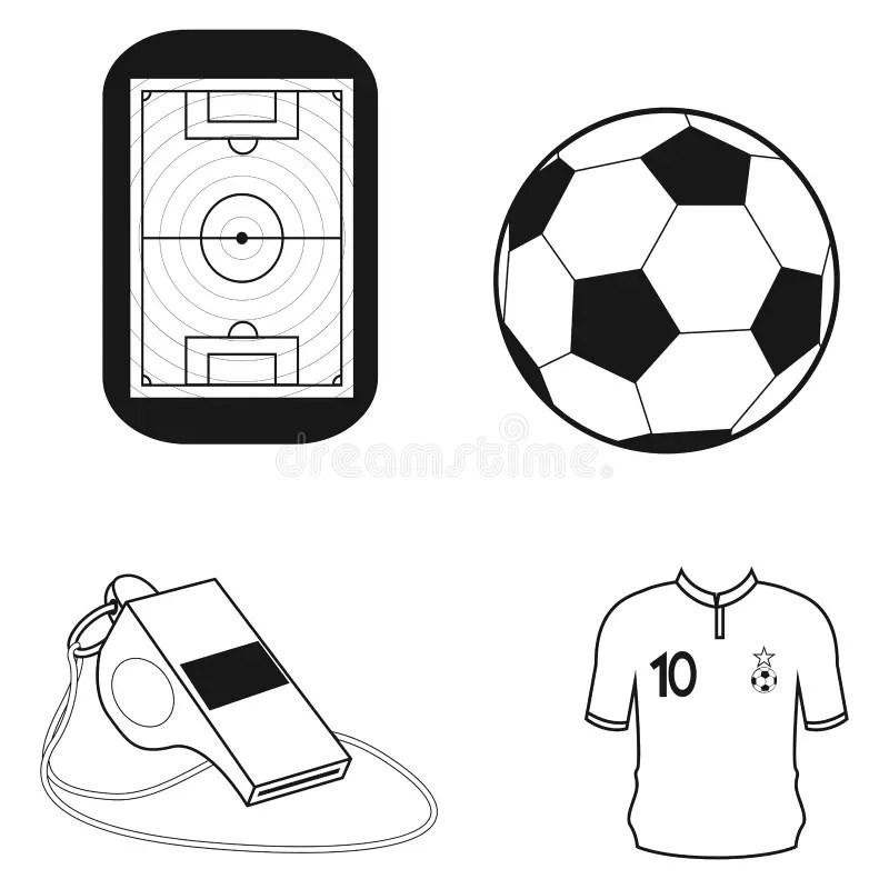 Vector Set Of Different Football Soccer Uniform Shirts