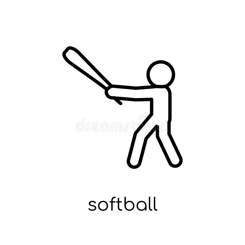 Softball Field Stock Illustrations