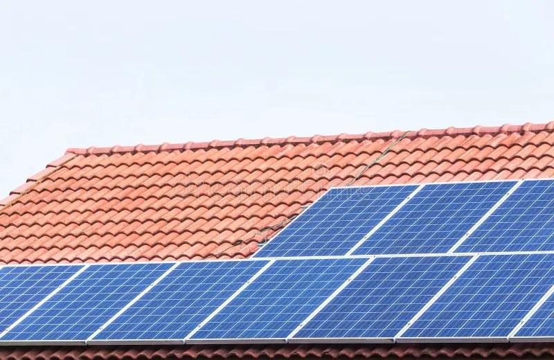 concrete energy roof solar photos