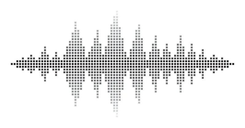Sound Waves stock vector. Illustration of color, digital