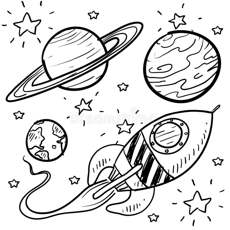 Planets Clipart Space Science