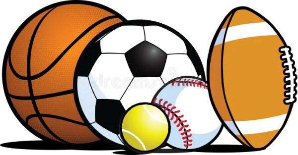 sports equipment stock vector