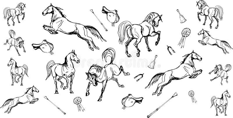 Spurs Stock Illustrations