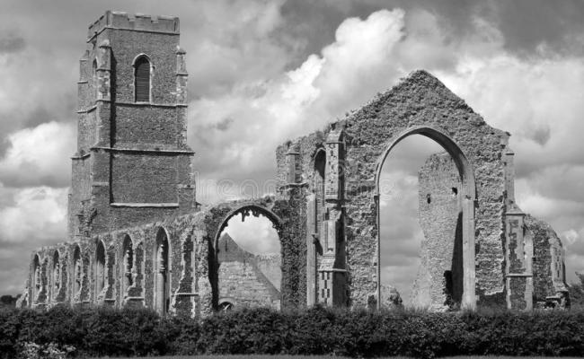 St Andrew S Church Covehithe Suffolk England Stock
