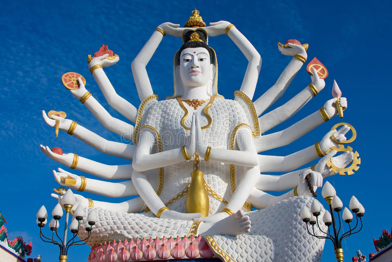 Lord Buddha Animated Wallpapers Statue Of Shiva On Koh Samui Island In Thailand Editorial