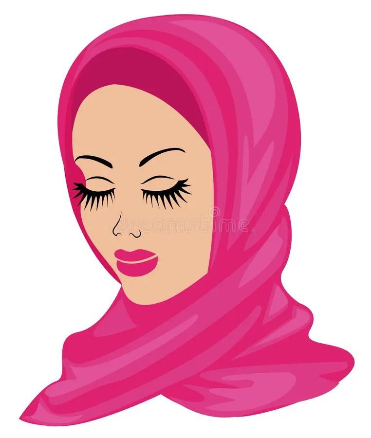 Muslimischer badeanzug islamischer badeanzug für frauen hijab burkini,. Moslemische Frau In Der Hijab Handzeichnungsart Ramadan ...