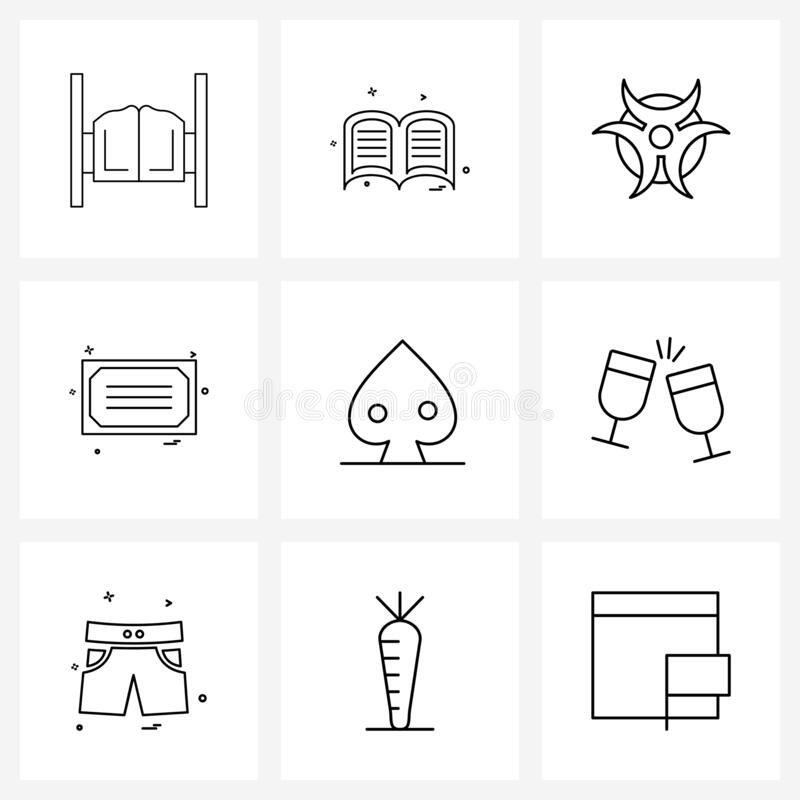 Education Certificate Line Icon. Element Of Human