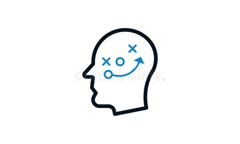 Critical Thinking Vector Illustration Concept Stock Vector