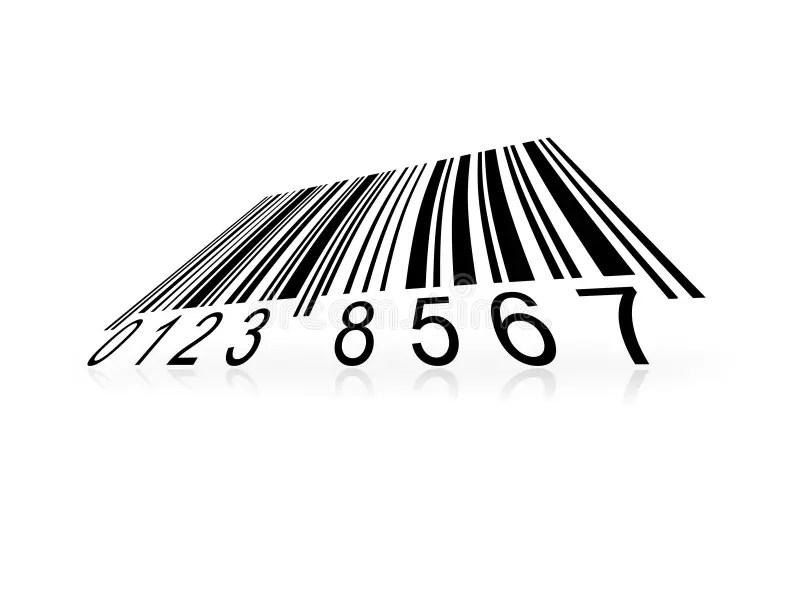 Streepjescode stock illustratie. Illustratie bestaande uit