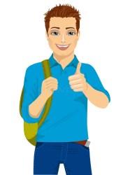Handsome Student Stock Illustrations 5 009 Handsome Student Stock Illustrations Vectors & Clipart Dreamstime