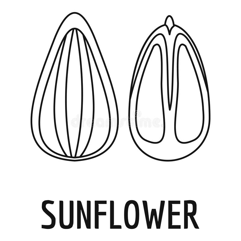 Sunflower Seed Stock Illustrations
