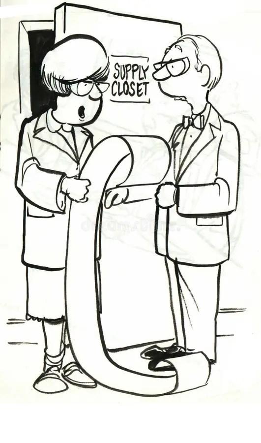 Janitor School Stock Illustrations