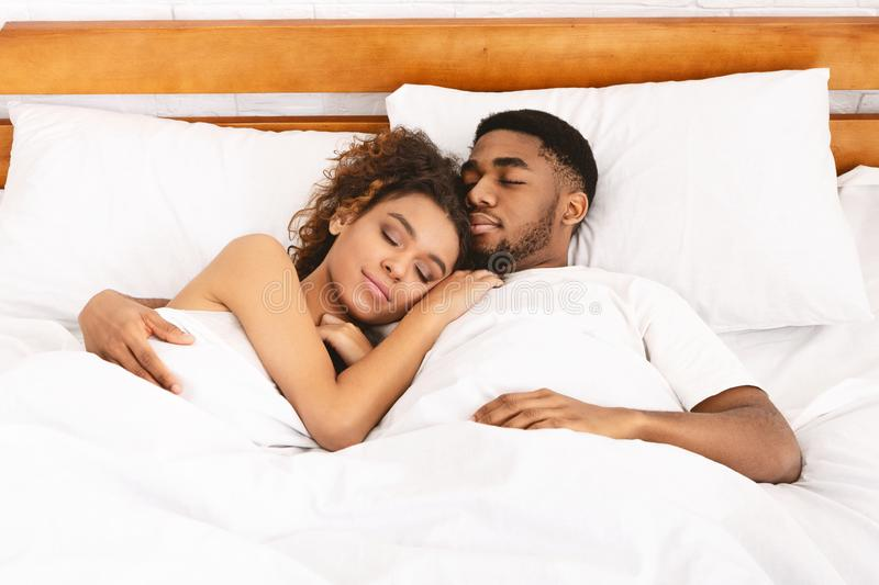 779 Black Couple Sleeping Photos - Free & Royalty-Free Stock Photos from  Dreamstime