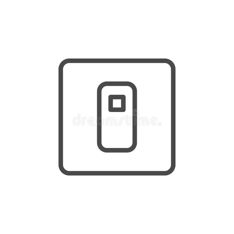 Power switcher stock illustration. Illustration of fuse