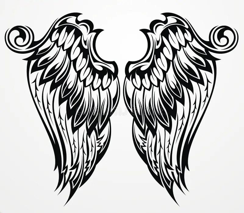 Black Heraldic Eagle Stock Vector Illustration Of Freedom