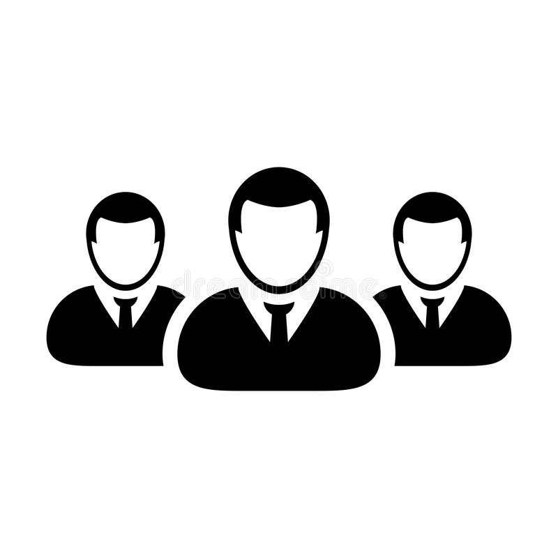 Team Icon Vector User Group Of People Pictogram