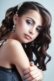 teen model girl stock