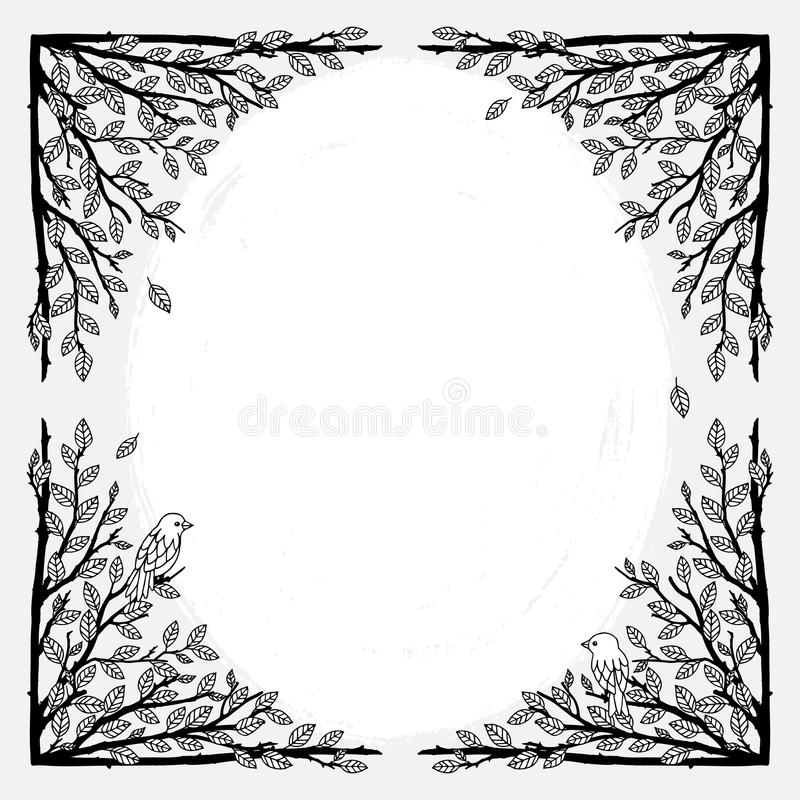 Text frame stock vector. Illustration of message, shape