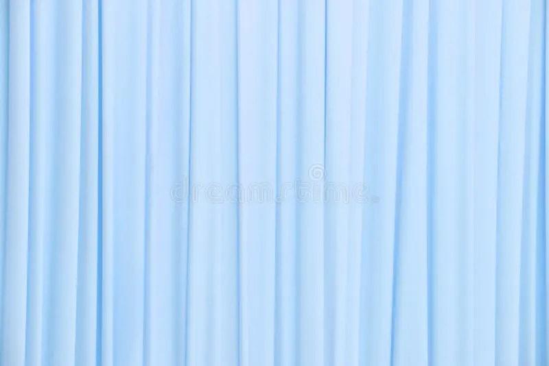 Textura Azul Clara De La Cortina Foto de archivo  Imagen
