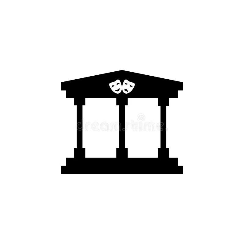 Roman Theater Stock Illustrations