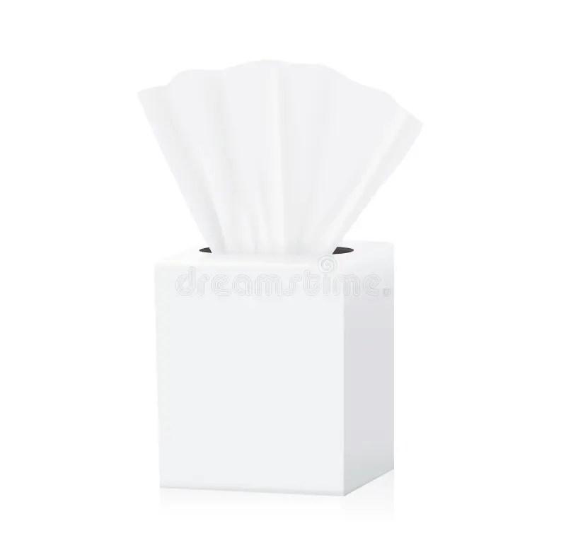 Download Tissue box mock up stock vector. Illustration of inside ...