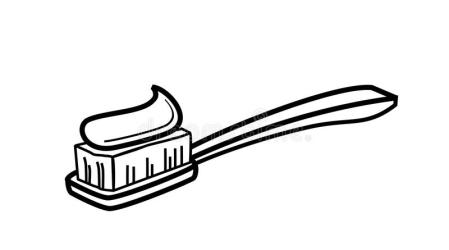 toothbrush icon vector clipart pictogram icona tandenborstel paste stockillustratie dente spazzolino denti dello graphic het tand illustratie