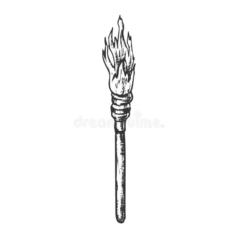 Fire Lighting Stock Illustrations