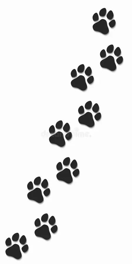 Dog Shadow Stock Illustrations