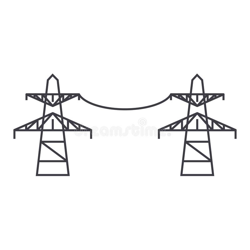 Transmission Line Stock Illustrations