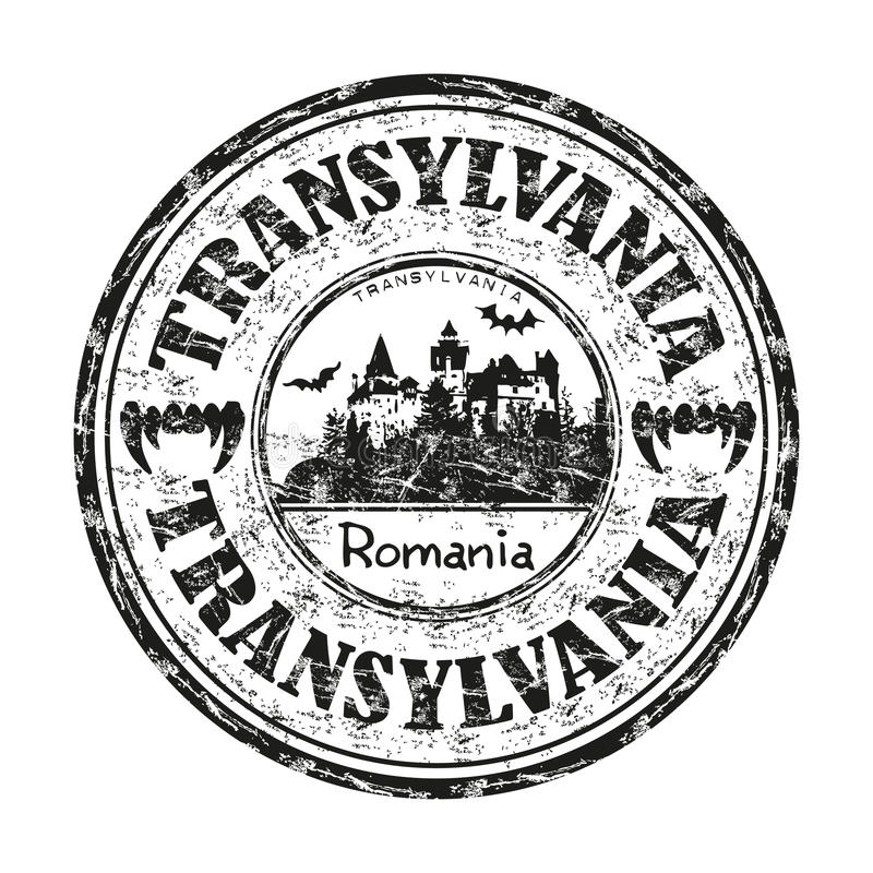 Transylvania sign stock vector. Illustration of sign