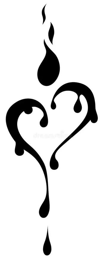Black And White Heart Tattoo : black, white, heart, tattoo, Black, White, Tattoo, Design, Heart, Stock, Illustrations, 6,006, Illustrations,, Vectors, Clipart, Dreamstime