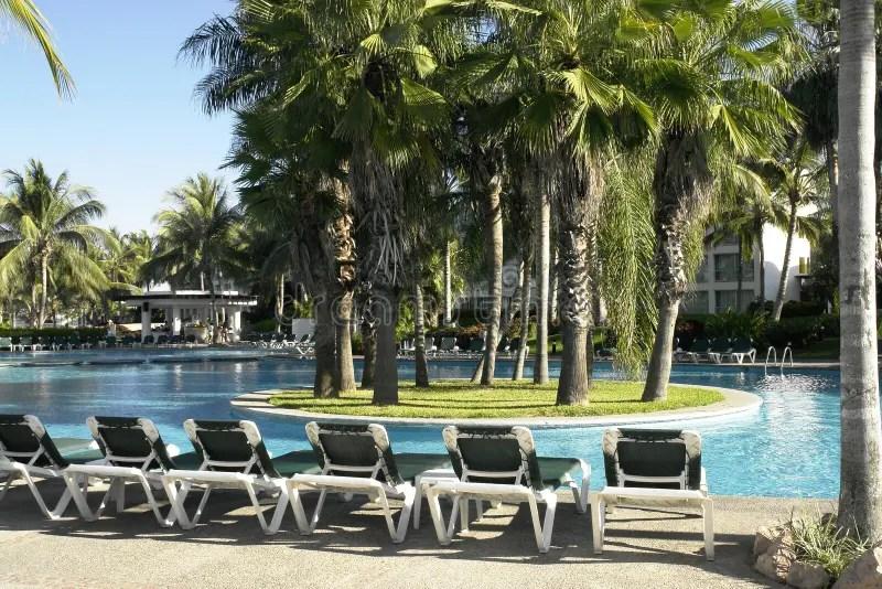 Download Tropisch Zwembad Royalty Vrije Stock Afbeelding Afbeelding