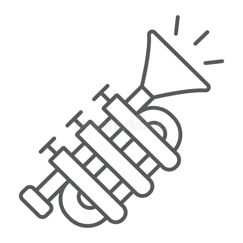 Jazz Trumpet Music/eps stock vector. Illustration of logos