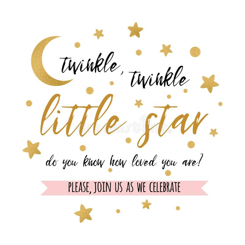 twinkle twinkle little star text with