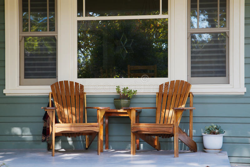 2 x 4 adirondack chair plans bedroom swing two chairs porch stock image - of country, empty: 16661451