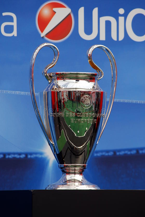 Uefa Champions League Trophy Editorial Stock Photo - Image ...