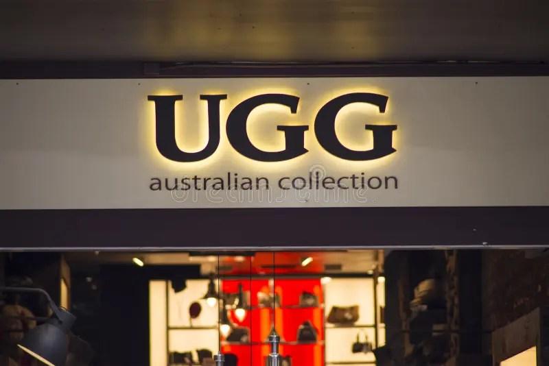 UGG store editorial stock photo. Image of australia. symbol - 50201258