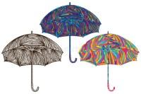 Umbrella Colorful Color Stock Vector - Image: 60670168