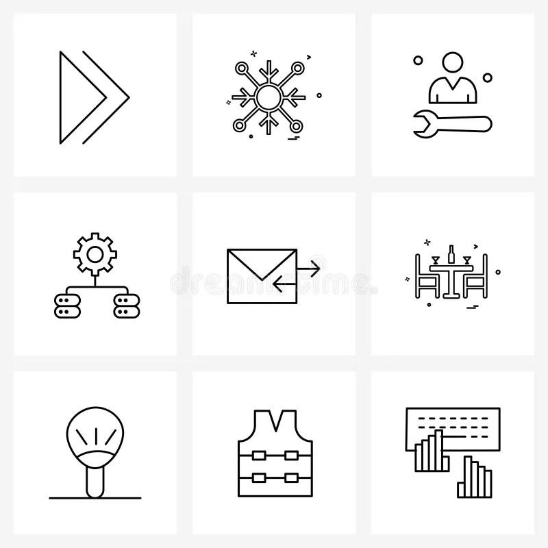 Maintenance Symbols Stock Illustrations