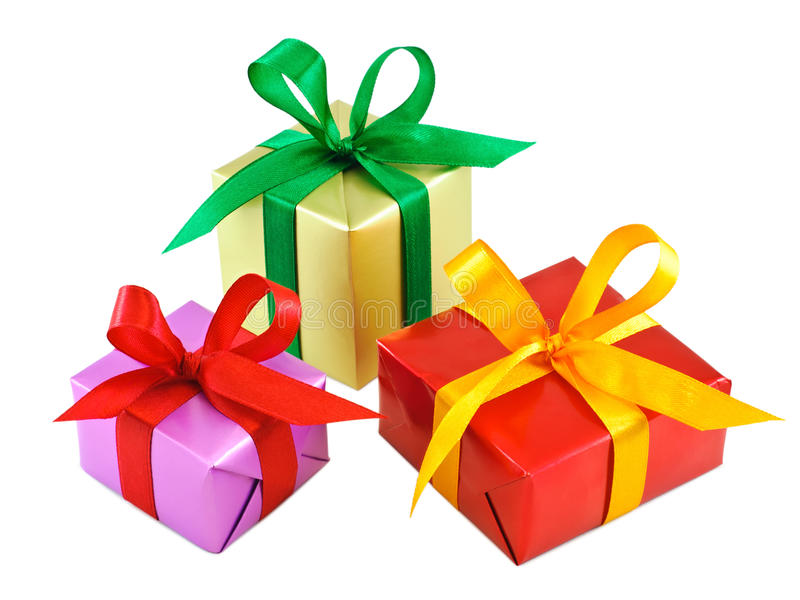 Various Gift Wrapped Presents Stock Photo  Image Of