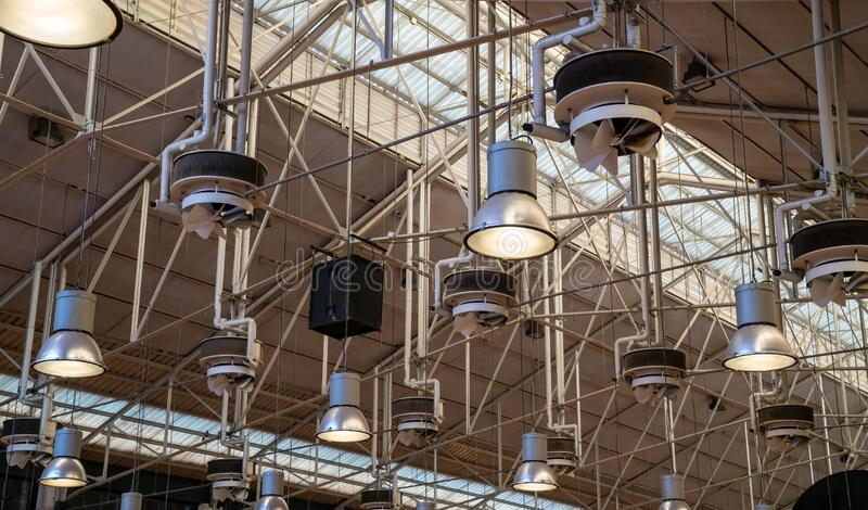 13 827 industrial lights photos free