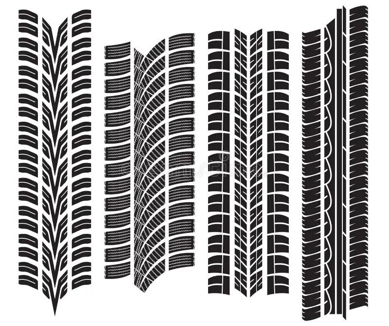 Vector Tire Tread